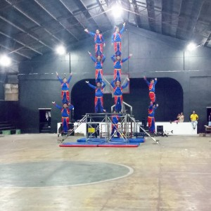 Acrobatic Show at Municipal Gymnasium (1)