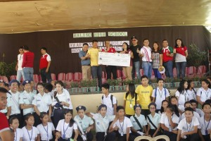Awarding of Scholars in Gerry Rodriguez High School and Malino High School 82