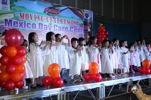 Mexico Day Care Centers Moving-Up Ceremonies for the School Year 2017-2018.