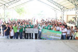 Awarding of Educational Assistance to 10, 248 Public High School students in Mexico town